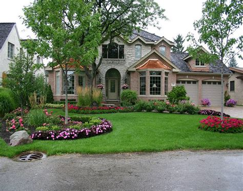 Country Style House With Wrap Around Porch 31 Amazing Front Yard Landscaping Designs And Ideas