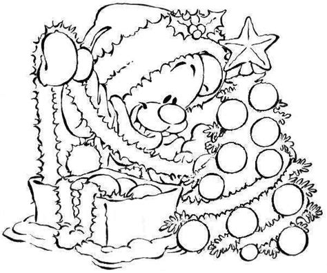 new year tree coloring page dibujos navide 241 os infantiles para colorear e imprimir