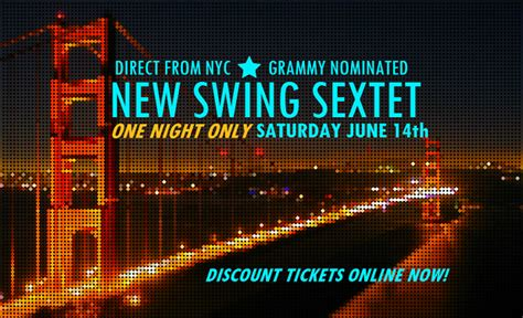 new swing sextet new swing sextet coming to bay area in june salsa by the bay