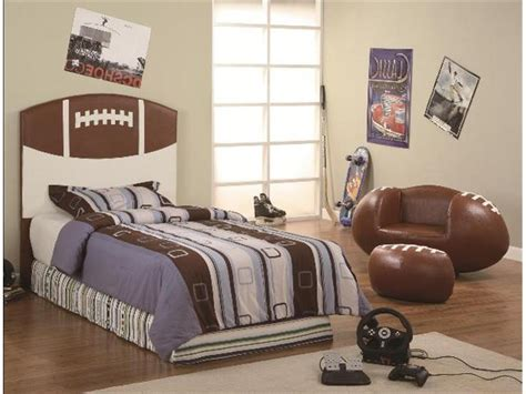 football bedroom furniture sports themed furniture and accessories decorating