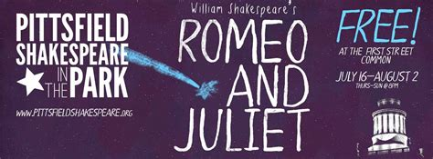 romeo and juliet theme park romeo and juliet pittsfield shakespeare in the park