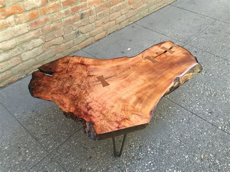 madrone woodwork sold beautiful pacific madrone wood live edge coffee