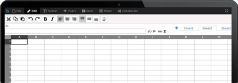 Collaborative Spreadsheet by Bread Sheets Collaborative Excel Spreadsheet Editor