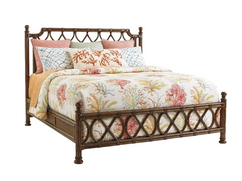 wicker beds bali hai island breeze rattan bed lexington home brands
