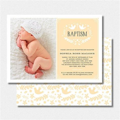 printable baptism invitation cards free photo card baby baptism christening invitation printable