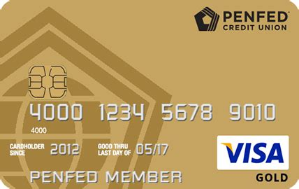 Low Fee Visa Gift Card - penfed visa gold card credit cards penfed