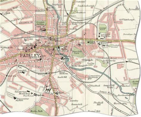 map of paisley paisley hamilton railway station