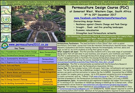 permaculture design certificate western australia pdc 2017 wc