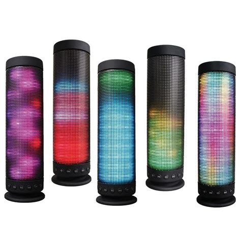 Speaker Portabel Player Fleco F 36 portable bluetooth speaker wireless speakers colorful led