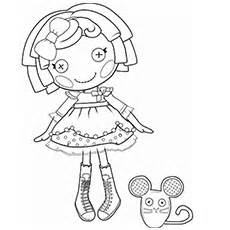 Crumbs Sugar Cookie Lalaloopsy Doll Coloring Page To Print sketch template