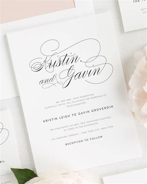 invitation script shine wedding invitations 2013 collection shine wedding invitations