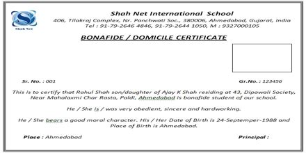 Bonafide Certificate Letter To Principal How To Write A Letter To School Principal For Bonafide