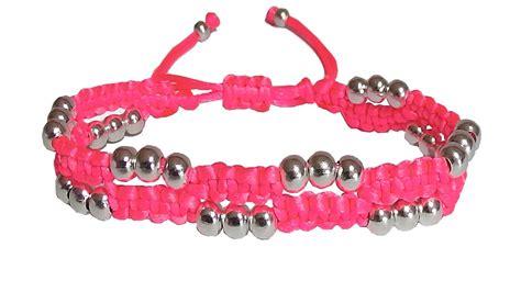 nudo para hacer pulseras como hacer pulseras de hilo con nudos de macrame y perlas