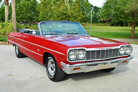 1964 chevrolet impala convertible for sale