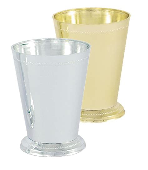 Silver Mint Julep Vases Vo 921 2 Small Plastic Mint Julep Cup Gold Or Silver