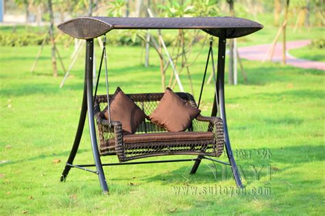 covered swing bench popular wicker swing cushions buy cheap wicker swing