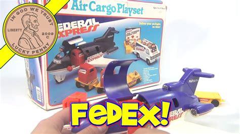 playskool air cargo federal express playset