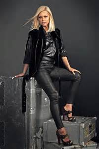 sophie monk at a photo shoot leather celebrities