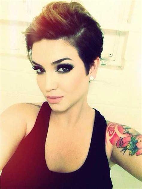 how to highlight a pixie cut 25 brunette pixie cuts pixie cut 2015 hair ideas