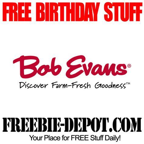 Bob Evans Gift Card - birthday freebie bob evans free bday meal for kids freebie depot