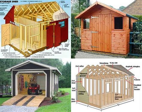 Free Shed Plans 12x10 by 10x12 Storage Shed Plans Learn How To Build A Shed On A