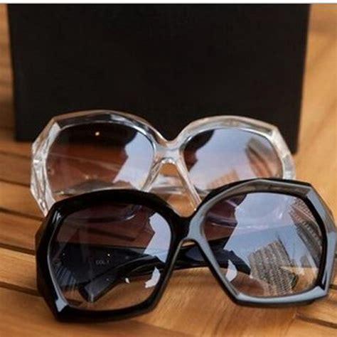 Large L Shades black frame sunglasses shades oversized