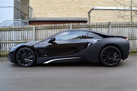 matte bmw i8 bmw i8 matte black wrap reforma uk
