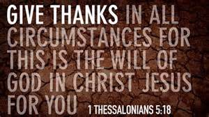 Is god s will for you in christ jesus we are not lucky we are blessed
