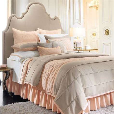 peach comforters peach tan bedding set new room ideas pinterest