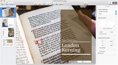 fixed layout ebook software pages 7 for mac review macworld