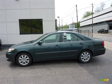 2003 toyota camry xle v6 2003 aspen green pearl toyota camry xle v6 48815062