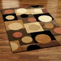 rug ideas contemporary rugs with circles rugs ideas