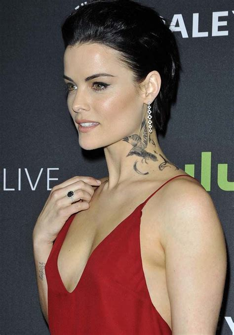 jaimie alexander tattoo jaimie talks tattoos for blindspot at