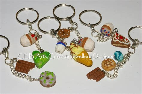 Handmade Keyrings - handmade keyrings and charms