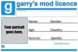 License Template by Gmod Licence Template By Tbwinger92 On Deviantart