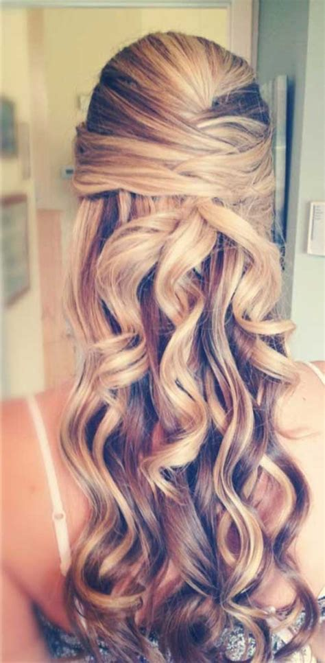 homecoming hairstyles for long hair down 20 down hairstyles for prom hairstyles haircuts 2016