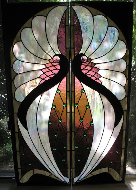 target stained glass l window glass deco stained glass window