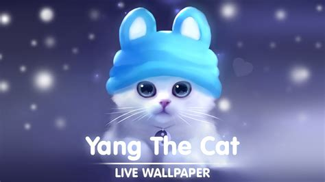 cat live wallpaper for pc yang the cat live wallpaper youtube