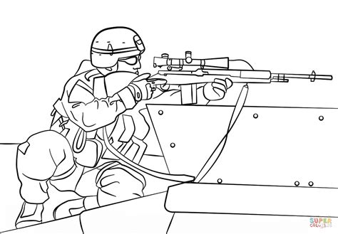 printable coloring pages army army sniper coloring page free printable coloring pages