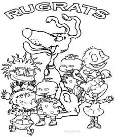rugrats coloring pages printable rugrats coloring pages for cool2bkids