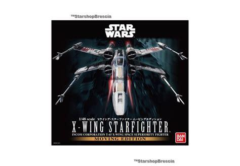 Wars Model Kit X Wing Starfighter 1 48 Moving Edition Bandai Japa wars 1 48 x wing starfighter moving edition model kit