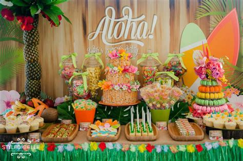 birthday themes hawaii aloha hawaiian 70th birthday party 2 love birds