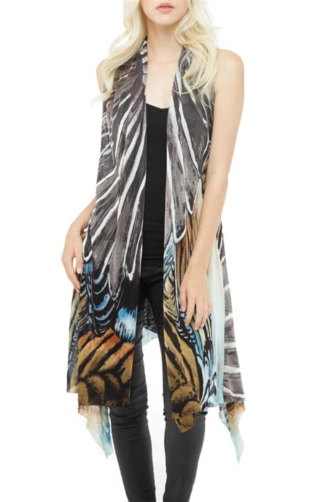 Adore Vest adore multicolored 3 way vest from cambria by new moon