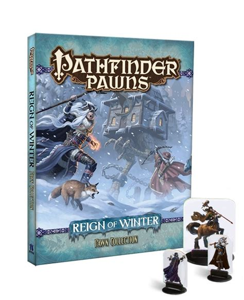 starfinder pawns archive pawn box books paizo pathfinder pawns of winter adventure