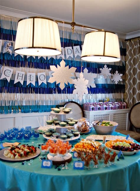 frozen  birthday party rambling renovators
