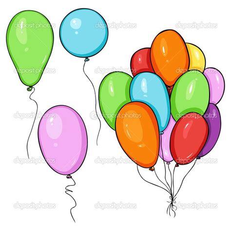 imagenes infantiles globos conjunto de globos de color de dibujos animados