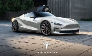 tesla new sports car this concept of tesla s next roadster is absolutely