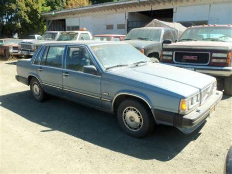 volvo 740 sedan buy used 1986 volvo 740 gle sedan 4 door 2 3l in coquille