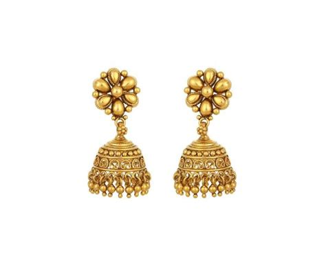 Anting Stud Ring 1 tanishq gold earrings 22k drop jewelry connaught place