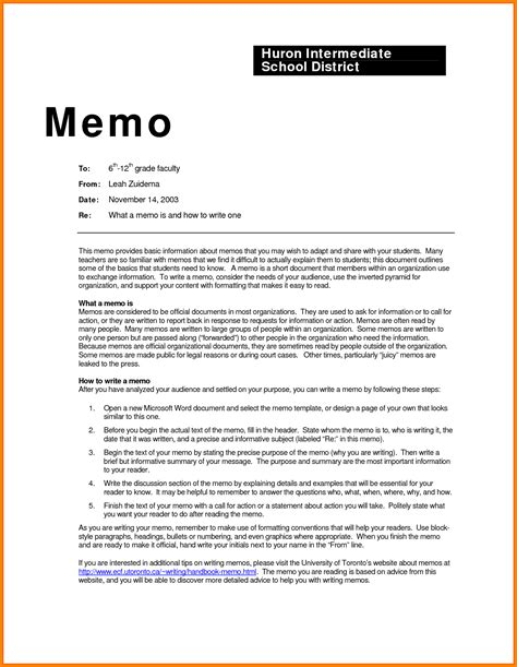 Memo Exles In Business 9 Exles Of Business Memos Weekly Agenda Planner